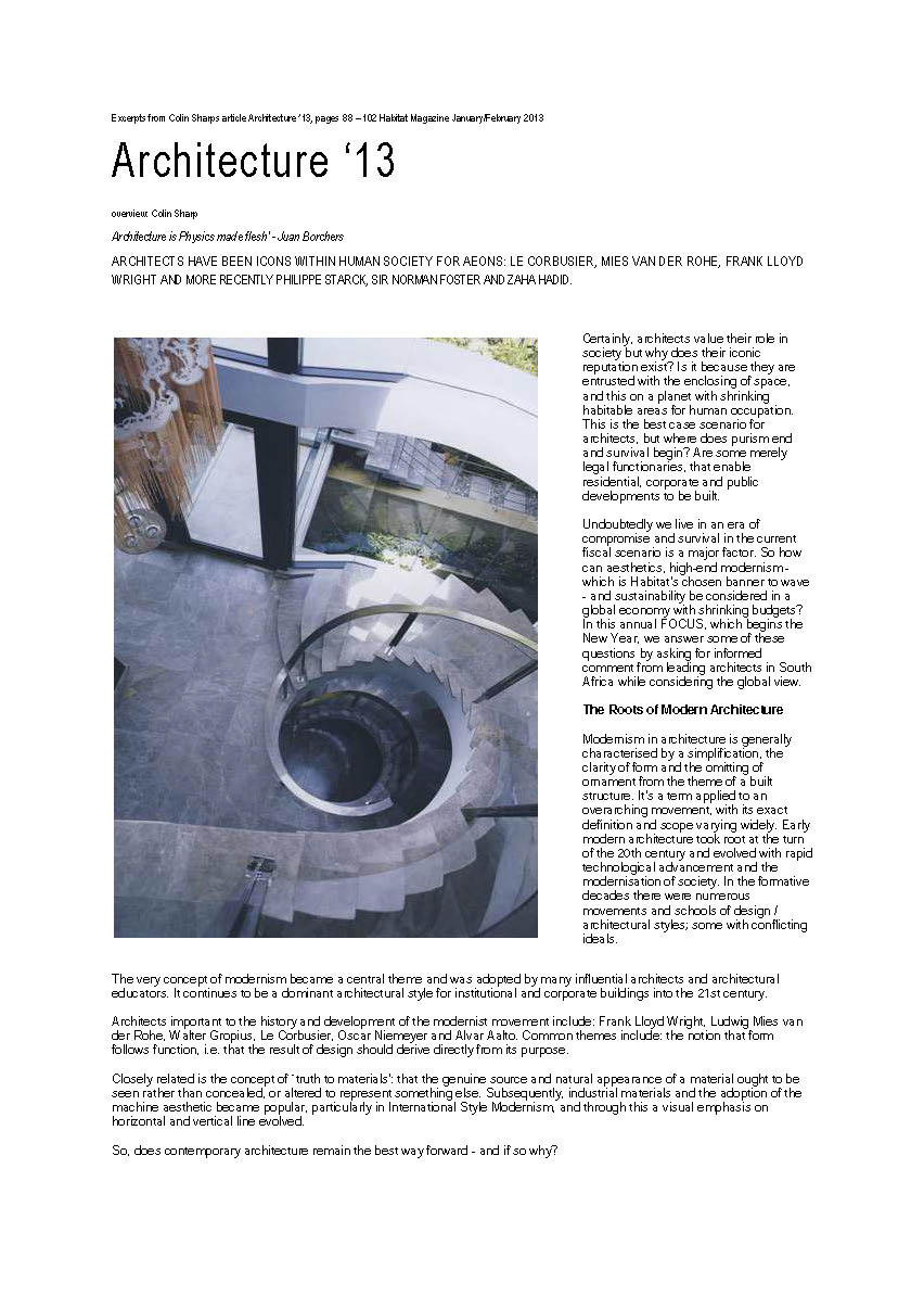 Excerpts from Colin Sharps article Architecture - pg1.jpg