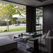 Luxury Contemporary Living Area