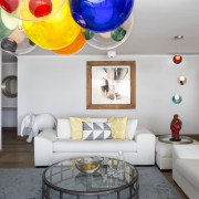 Atlantic Views Sea Point apartment interior renovation by Jenny Mills Architects - Living Room Interior Design View 1