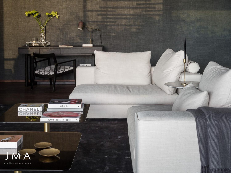Avenue Fresnaye Villa - Living room