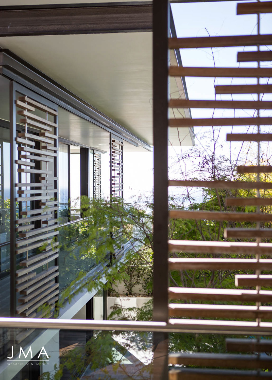 Avenue Fresnaye Villa - Timber Screening