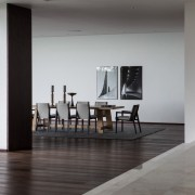 Avenue Fresnaye Villa Lounge / Dining Area - Interior Architectural design by Jenny Mills Architects