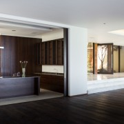 Avenue Fresnaye Villa Kitchen & Entrance Area - Interior Architectural design by Jenny Mills Architects