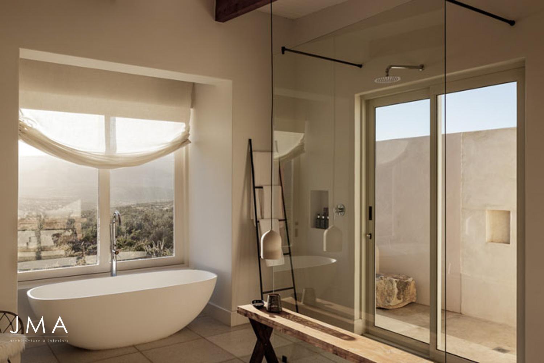 Cederberg Ridge Lodge - Bathroom Unit - design by Jenny Mills Architects