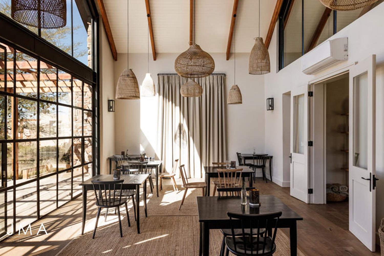 Cederberg Ridge Lodge Restuarant - Design by Jenny Mills Architects