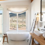 Cederberg Ridge Lodge Bathroom design by Jenny Mills Architects