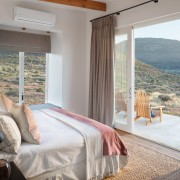 Cederberg Ridge Lodge Chalet Bedroom design by Jenny Mills Architects