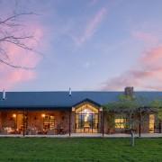 Cederberg Ridge Lodge Exterior View Farmhouse - design by Jenny Mills Architects