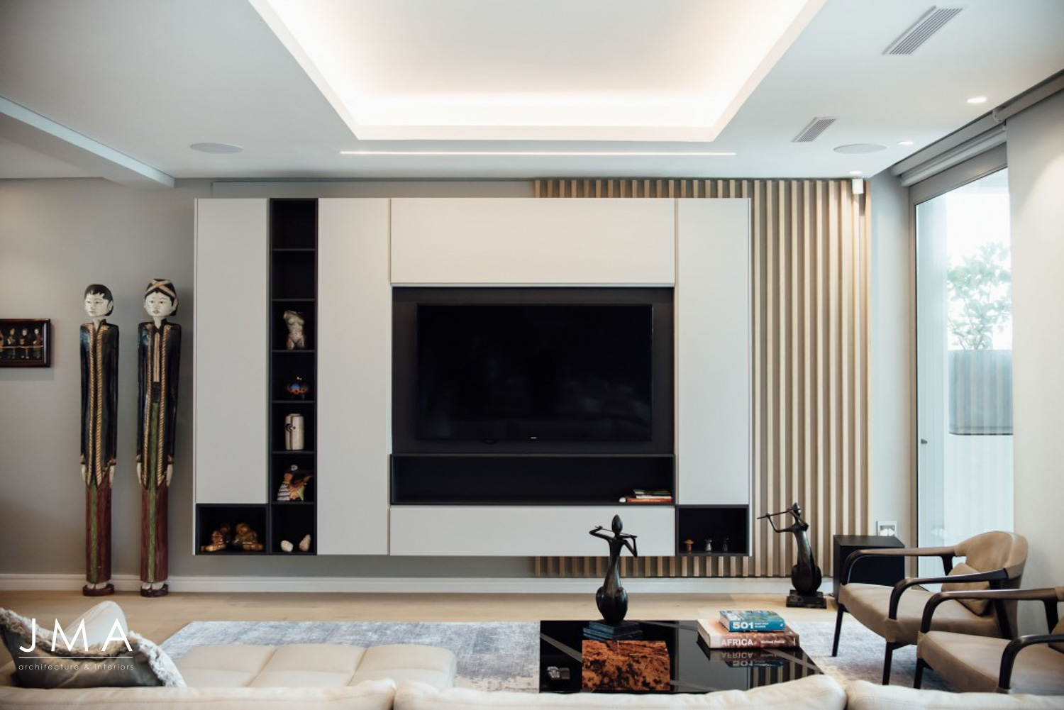 Living Area with Roche Bobois Furniture