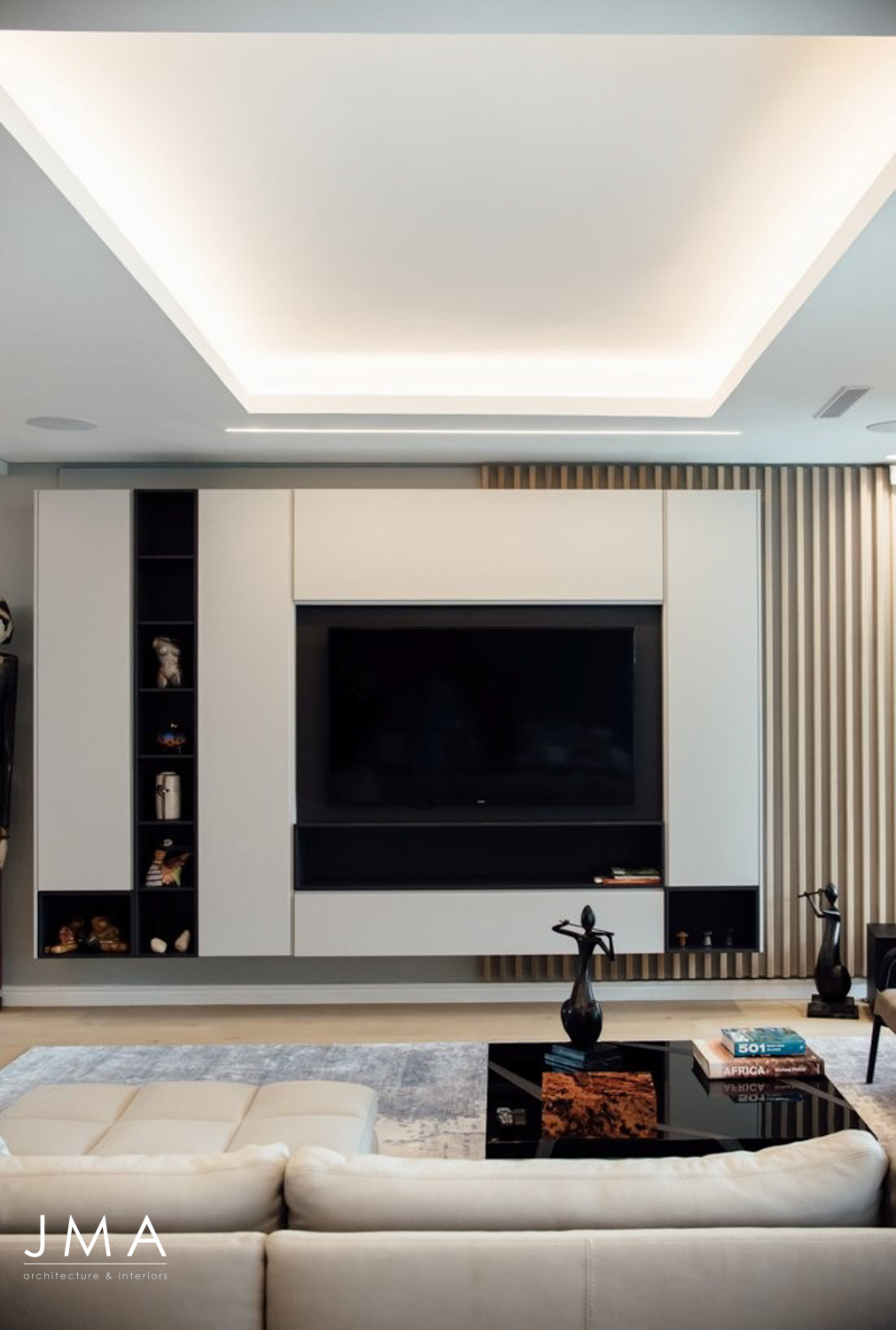 Living Area with TV Unit