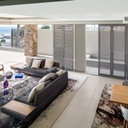 Connected Atlantic Living - Living Area with Roche Bobois Furniture