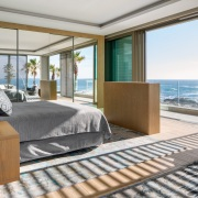 Connected Atlantic Living -  Main Bedroom with views of the Atlantic Seaboard