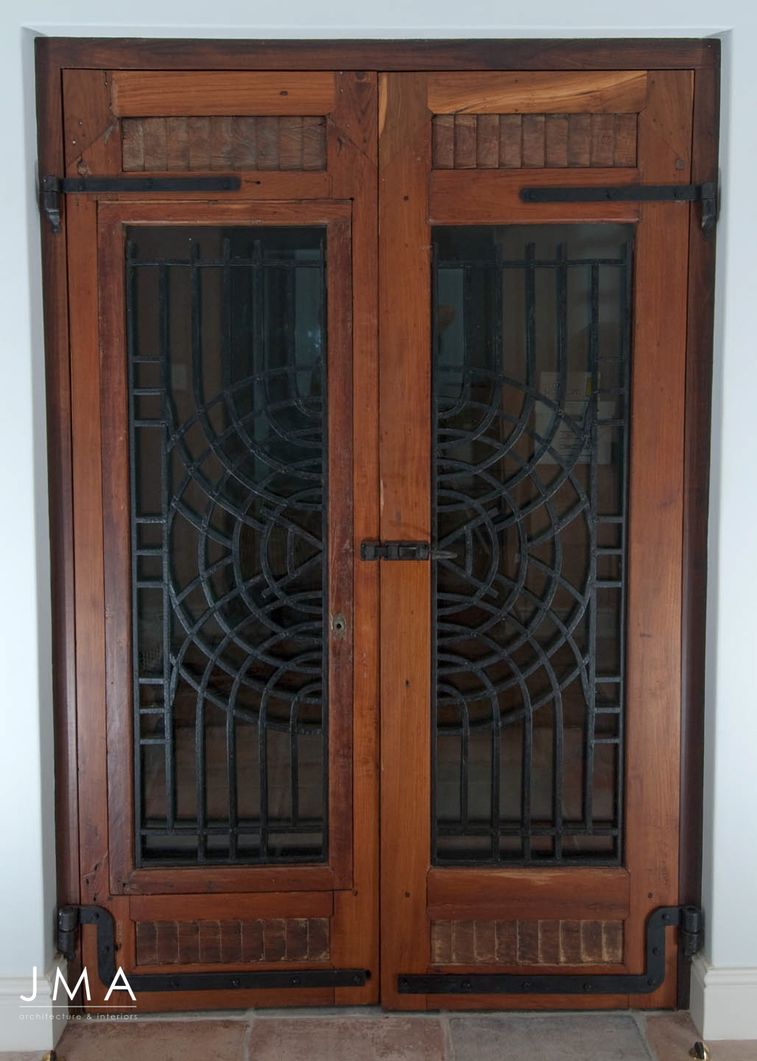 Jenny Mills Architecture: Original door
