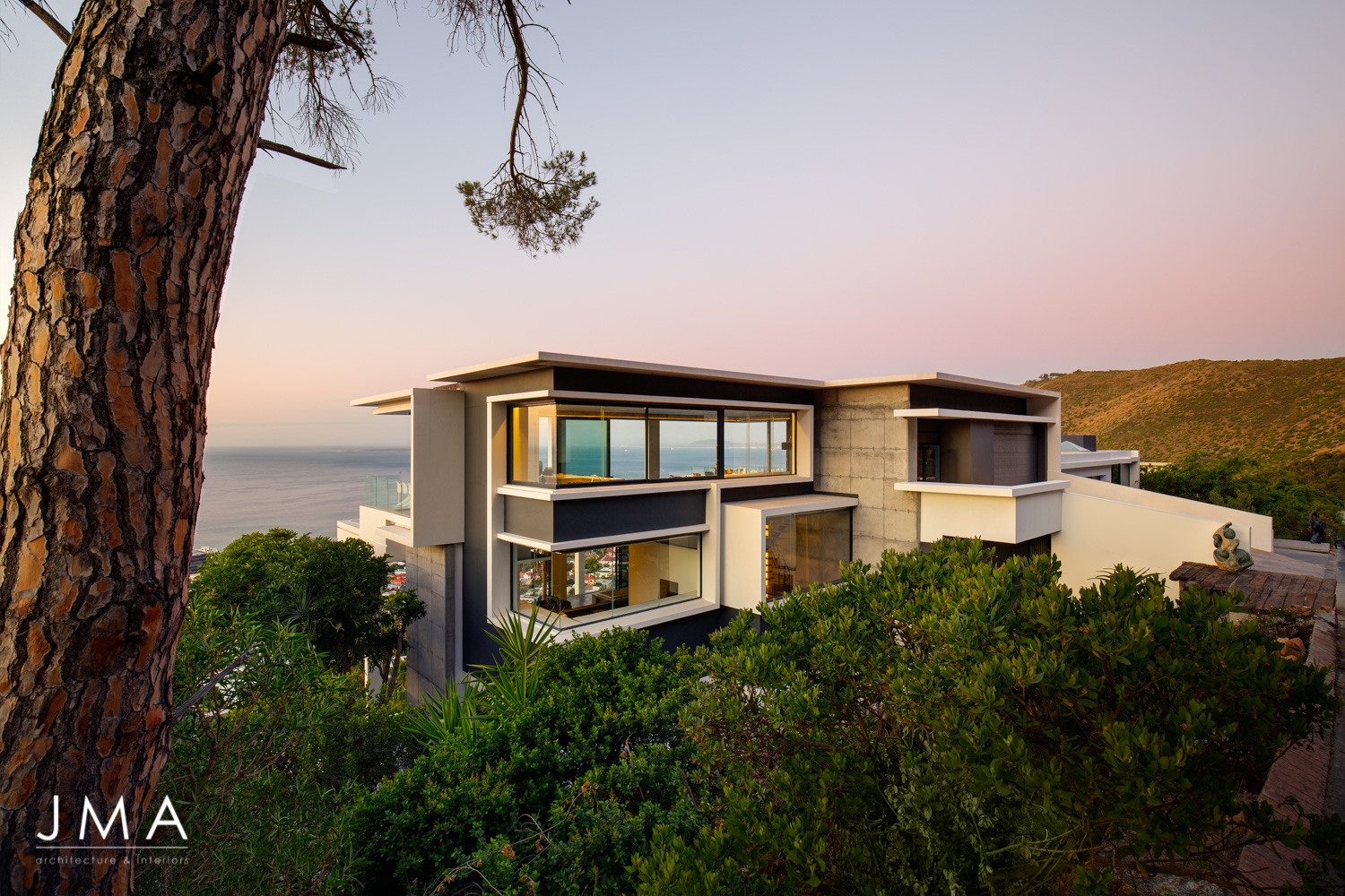 Pool Penthouse Exterior with Atlantic Seaboard View
