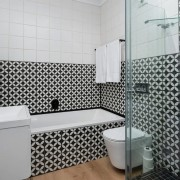 Greenpoint Home redesign by Jenny Mills Architects - Bathroom Area