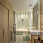 Sea Point Apartment Architecture & Interior Design by Jenny Mills Architects - Master Bathroom