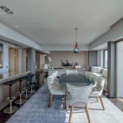 Sea Point Apartment Architecture & Interior Design by Jenny Mills Architects - Dining