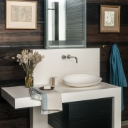 Contemporary Beach House Bathroom Detail