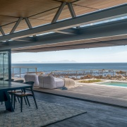 Contemporary Beach House  Indoor-Outdoor Living