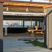 Contemporary Beach House Inner Courtyard Entrance