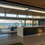 Contemporary Beach House Kitchen to Sea