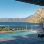 Contemporary Beach House Pool & Sea View