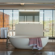 Contemporary Beach House Free Standing Bath