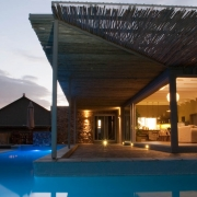 Living Areas opening up onto Pool Terrace