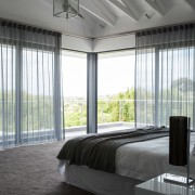 Welgedacht Villa Bedroom - Interior Architectural design by Jenny Mills Architects